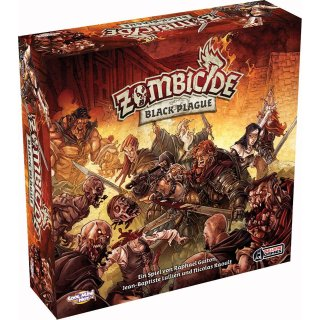 Zombicide - Black Plague (DE)
