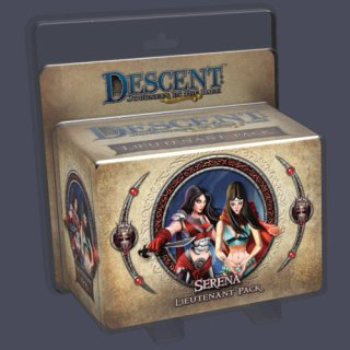 Descent 2nd Ed.: Lieutenant Pack: Serena (EN)