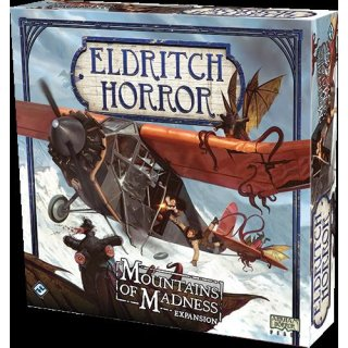 Eldritch Horror Boardgame: Mountains of Madness Expansion (EN)