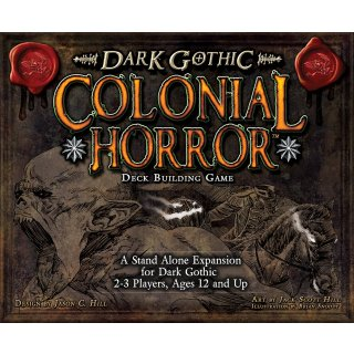 Dark Gothic: Colonial Horror Stand-Alone Expansion (EN)