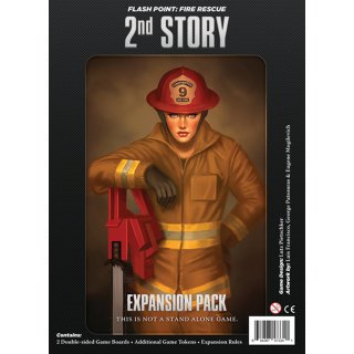 Flash Point: Fire Rescue - 2nd Story Expansion (EN)