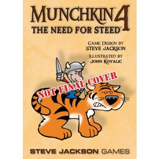 Munchkin 4: The Need for Steed (EN)