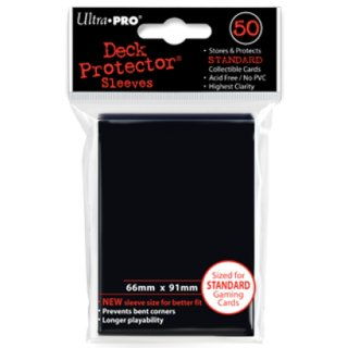 Ultra Pro Black Protector (50)