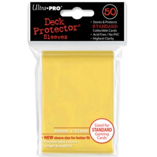 Ultra Pro Yellow Protector (50)