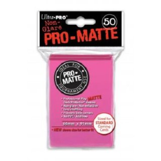 Ultra Pro: Pro-Matte Sleeves Bright Pink (50)