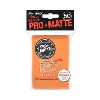 Ultra Pro: Pro-Matte Sleeves Orange (50)