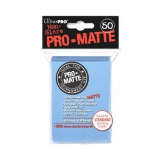 Ultra Pro: Pro-Matte Sleeves Light Blue (50)