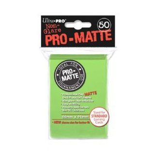 Ultra Pro: Pro-Matte Sleeves Lime Green (50)