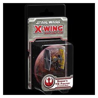 Star Wars: X-Wing: Sabines TIE Fighter Expansion Pack (EN)
