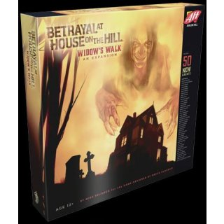 Betrayal at House on the Hill: Widow`s Walk Expansion (EN)