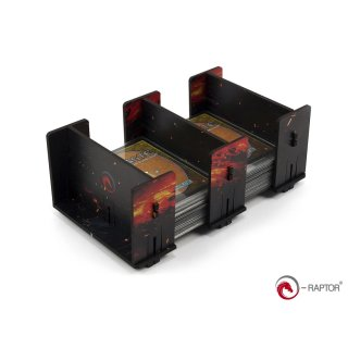 Card Holder: 2L FullPrint HDF Lava