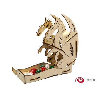 Dice Towers Large: Dragon (Wooden)
