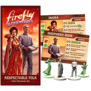 Firefly Adventures: Brigands & Browncoats - Resepctable Folk Expansion (EN)