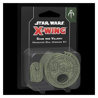 Star Wars: X-Wing 2. Edition - Scum and Villainy Maneuver Dial Upgrade Kit