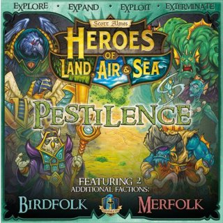 Heroes of Land, Air & Sea: Pestilience Booster Pack (EN)