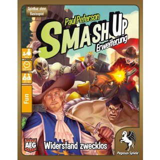 Smash Up: Widerstand zwecklos (DE)