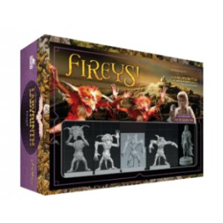 Jim Henson`s Labyrinth: Fireys! Expansion (EN)