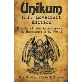 Unikum - H.P. Lovecraft Edition (DE,EN)