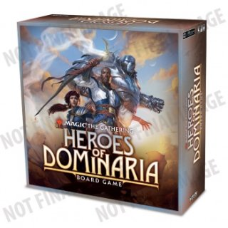 Magic: The Gathering - Heroes of Dominaria Board Game Standard Edition (EN)