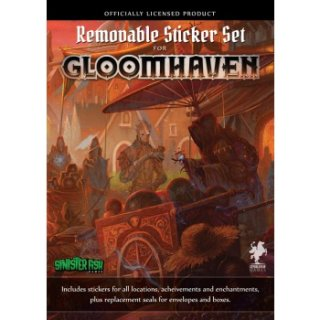 Gloomhaven - Removable Sticker Set (EN)