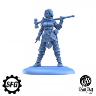 Guild Ball - The Mason`s Guild: Veteran Chisel (EN)