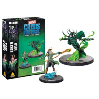 Marvel Crisis Protocol: Loki and Hela (EN)