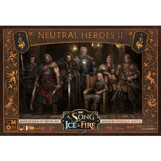 A Song of Ice & Fire: Neutral Heroes 02 (Neutrale Helden 02) (DE/ES/FR)