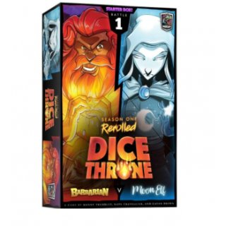 Dice Throne: S1R Box 1 Barbarian v Moon (EN)