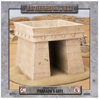 Battlefield In A Box - Forgotten City - Pharaohs Gate