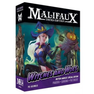 Malifaux 3rd Edition - Witches and Woes Rotten Harvest - Pandora LTD (EN)