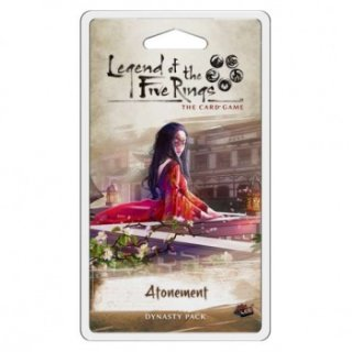 Legend of the Five Rings LCG: Atonement Dynasty Pack (EN)