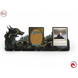 Card Holder L Dragon FullPrint Gray